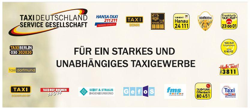 Taxi Deutschland Mitglieder