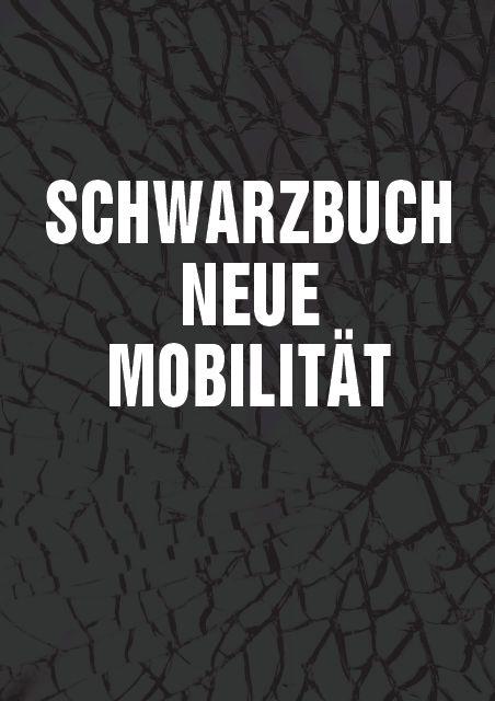 Titelseite Schwarzbuch Neue Mobilität