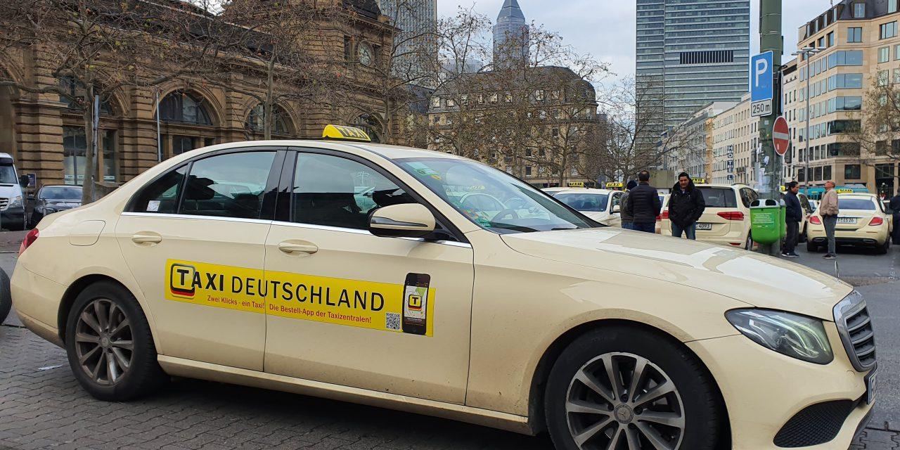 """App """"Taxi Deutschland"""" – neues Design und neue Funktionen für noch einfachere Handhabung"""