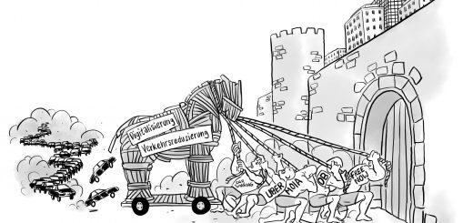 Trojanisches Pferd der neuen Mobilitätsanbieter