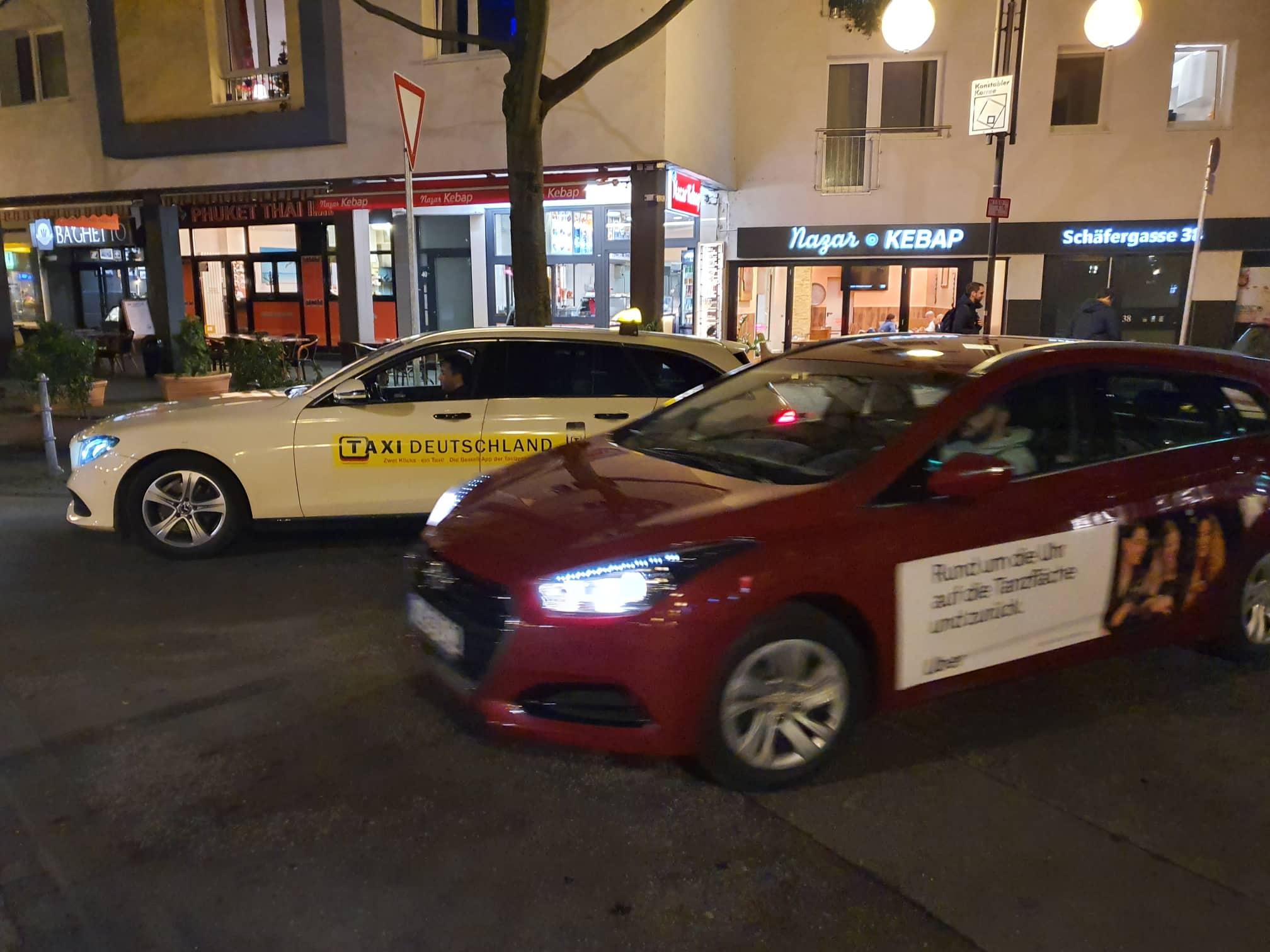 Am Vorabend der Entscheidung des Landgerichts Frankfurt in der Klage von Taxi Deutschland gegen Uber